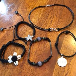 Jewelry Bundle: Necklace and Bracelets. Fun!